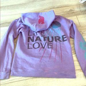 Purple Free City Sweatshirt